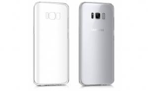 Husa compatibila Samsung Galaxy S8 Plus TPU 0.3 mm, transparent