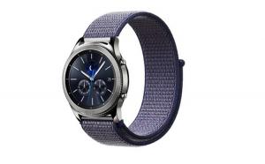 Curea Textila Premium MTP Midnight Blue