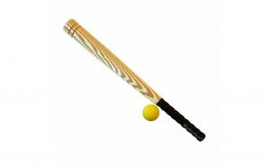 Bata de baseball pentru copii cu o parte moale , 65 cm + 1 mingie