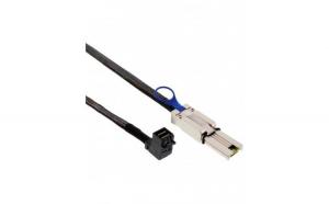 Cablu InLine mini SAS HD 0.5m, SFF-8643,