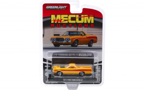 Macheta Greenlight, Mecum Auctions Collector Cars Series 4 - 1972 Ford Ranchero GT (Las Vegas 2018) Solid Pack 1:64