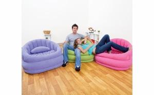 Fotoliu gonflabil cu design deosebit la numai 249 RON redus de la 499 RON