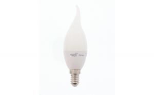 Bec cu led lumanare E14 6W 230V lumina