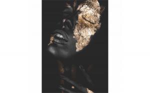 Tablou Canvas Gold Dream, 40 x 60 cm, 100% Poliester