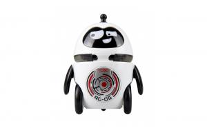 Robot inteligent in forma de Pinguin care merge si canta si se sincronizeaza cu alt robot de acelasi fel,evita obstacole, pentru copii