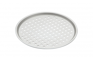 Tava rotunda pentru pizza, 33 cm, otel