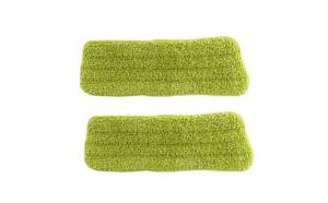 Set 2 rezerve lavete microfibre pentru curatare Grunberg - DS1260 Super spray mop Verde