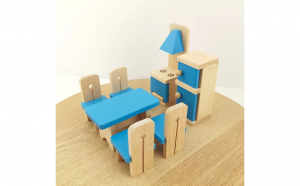 Mobilier bucatarie lemn Onshine
