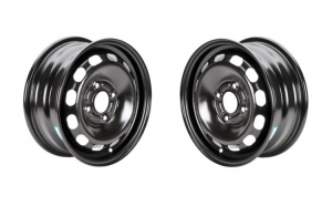 Set 2 Jante otel Renault Scenic pana in 2003 6Jx15  H2  4x100x60  ET43