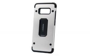 Husa Samsung Galaxy S8 Plus Motomo Armor Argintiu