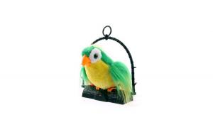 Papagal de jucarie, vorbitor