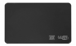 Carcasa rack extern, USB 3.0, SATA 2.5, neagra