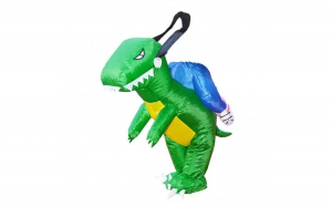 Costum dinozaur, gonflabil, din