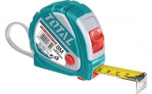 Ruleta 8m x 25mm  - buton 3 functii