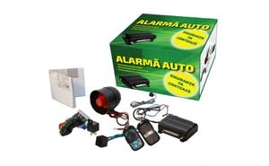 Echipeaza-ti masina cu un sistem eficient de securitate: Alarma auto cu doar 119 RON in loc de 238 RON