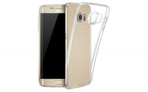 Husa compatibila Samsung Galaxy S7 / G930A / G9300 TPU 0.3 mm, transparent