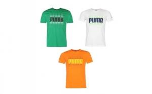 Tricou barbati Puma Wording, Puma