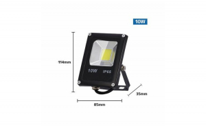 Proiector LED SMD, 10W, IP65, RGB