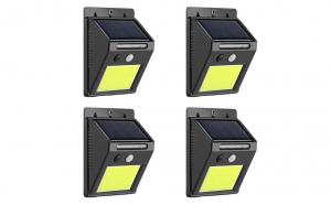 Set 4 lampi solare
