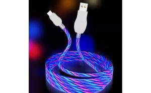 Cablu cu lumina multicolora