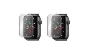 Folie Apple Watch 5 44mm 1+1 Gratis -