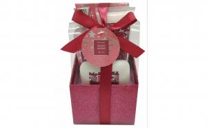 Set cadou cu 4 produse aroma ghimbir condimentat