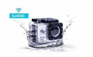 Camera Sport Gnex Silver PRO Full HD 1080P,  csard 16 GB inclus - la fel ca GoPro Hero, la 379 RON in loc de 1200 RON