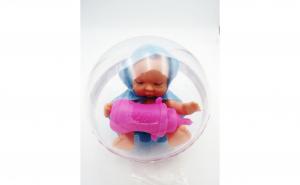 Glob bebe, albastru