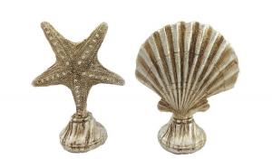 Decoratie set formata din stea de mare