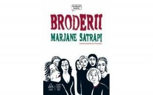 Broderii, autor Marjane Satrapi