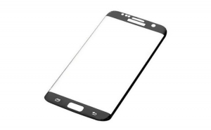 Folie Sticla Curbata Samsung Galaxy S7 Edge Flippy Full Glue 4D/5D Negru