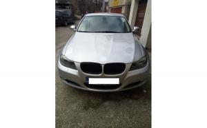 Husa auto dedicate BMW E91 318. FRACTIONATE - ROMB. Calitate Premium