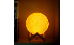 Lampa Moon 3D Black Friday Romania 2017