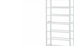 Suport raft pentru depozitare incaltaminte,10 nivele,140 x 50 cm