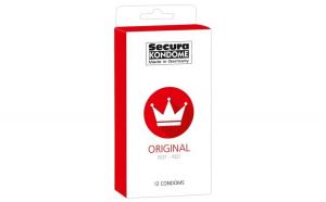 Prezervative Secura Original Red , 12