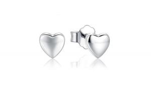 Cercei din argint 925 Petite Plain