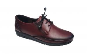 Pantofi dama din piele naturala negri, maro, bleumarin, visiniu si marimi mari