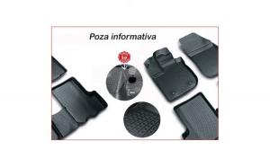 Covoare cauciuc stil tavita VW Sharan II 2010-> ( 3D 0512 -  A10 )