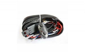 Kit releu cabluri 2 x butoane interior 2 x sigurante 2 x trasee independente proiectoare Ledbar