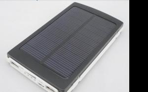 Solar power bank 10.000 mAh, la 89 RON in loc de 285 RON. Ideala pentru cele mai multe dispozitive digitale tablete, telefoane, iPod etc.