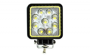 Proiector LED Auto Offroad Cu Angel Eyes
