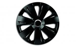 Set capace roti 14` negre cu inel cromat energy