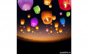 Distreaza-te cu prietenii tai in aer liber - Set de 10 lampioane colorate
