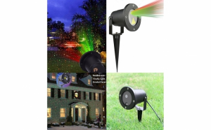 Proiector laser de exterior, cu joc de lumini
