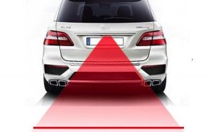 Laser auto pentru condus pe timp de ceata sau noapte, montare prin atasare