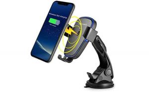 Suport telefon cu incarcator wireless.