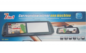 Oglinda monitor cu GPS plus multe alte