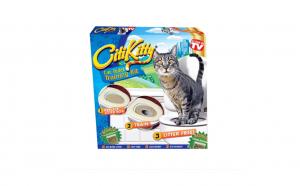 Kit pentru educarea pisicilor la toaleta