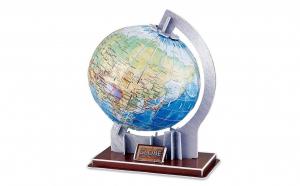 Puzzle 3D, model glob pamantesc 71 piese