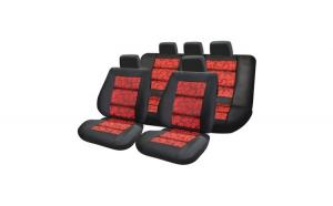 Huse Scaune Auto DACIA LOGAN I Premium Lux Rosu